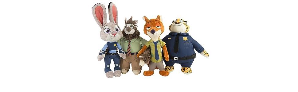 zootopia《疯狂动物城》大型毛绒玩具尼克