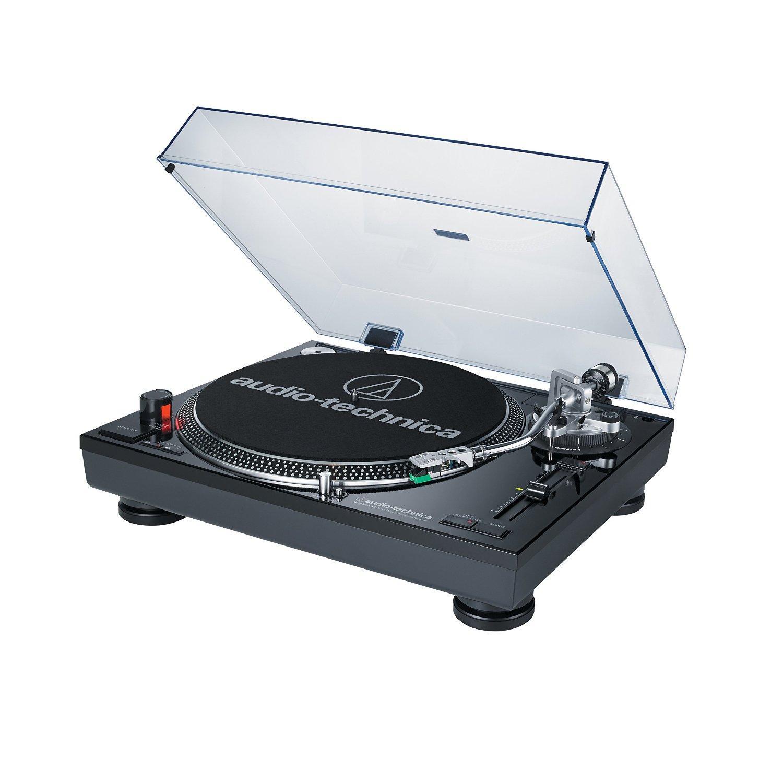 audio technica铁三角at-lp120bk-usb直接驱动专业唱机(usb &唱针)