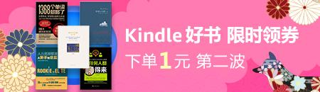2018年货节——Kindle电子书 下单1元第二波