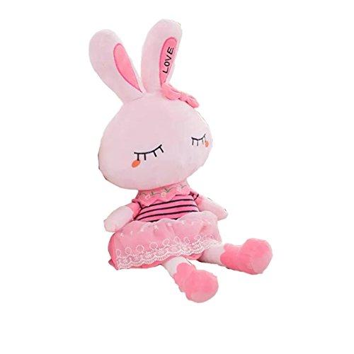 爱萌兔玩具 可爱公主兔 毛绒玩具 兔子公仔大号抱枕 布娃娃 女孩生日