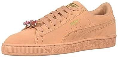 PUMA Suede Jewel 儿童运动鞋 Dusty Coral-puma Team Gold 4 M US 儿童