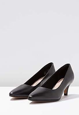 Clarks 女 中跟鞋 261372084030 黑色 35.5  Linvale Jerica/玲薇儿 芮卡