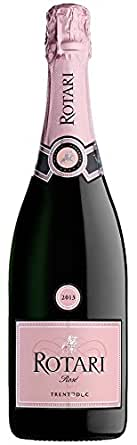 【亚马逊直采】Rotari 罗塔丽 天然桃红起泡酒特伦托DOC, 750ml(亚马逊进口直采红酒,意大利品牌)自营精选