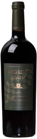 Andretti 安德瑞蒂纳帕谷赤霞珠红葡萄酒750ml(亚马逊进口直采,美国品牌)