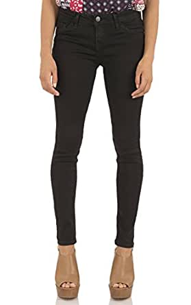 WallFlower 女式青少年不可抗拒的牛仔裤(内缝长 71.12-76.20 cm) Logan/Black 9 Long