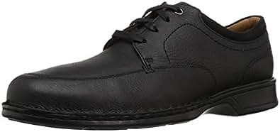 Clarks 男士 Northam Pace 牛津鞋 Black Oily Leather 070 M US
