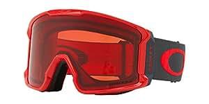 OAKLEY LINE miner 滑雪护目镜红色锻造铁大号