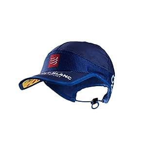 Compressport 中性 竞赛版 轻量跑步帽 Mont Blanc勃朗峰纪念版 CS-CAP-UL-MB17 蓝色 均码