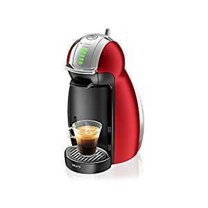 Krups Nescafé Dolce Gusto Genio 咖啡胶囊机(自动) 红色 KP1605IB