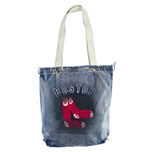 MLB Boston Red Sox Retro Vintage Shopper Bag, Denim