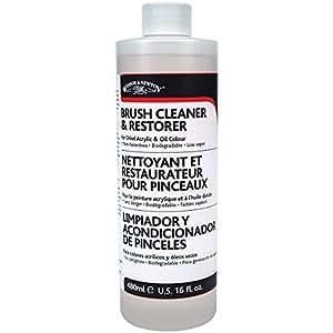 Winsor & Newton 刷子清洁剂和修复剂 16盎司 白色