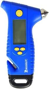 MICHELIN 米其林 MN-4205数显胎压计 救生锤 应急手电 安全带割刀4合一功效