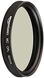 AmazonBasics 圆形偏光镜 52 毫米CF02-NMC16-52 52 mm