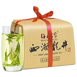 梅府茗家 豆香浓郁 正宗梅家坞西湖龙井雨前三级 谷雨茶绿茶250g茗茶