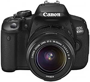 Canon 佳能 EOS 650D 数码单反套机(EFs 18-55mm/f3.5-5.6ISII镜头)