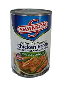 Swanson史云生牌上鸡肉汤411g (美国进口)