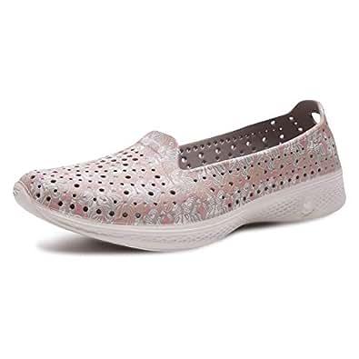 Skechers 斯凯奇 ON-THE-GO系列 女 轻质休闲塑模鞋 14692-TPE 灰褐色 39 (US 9)