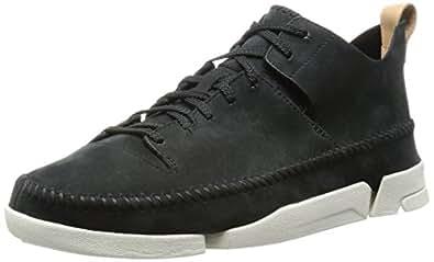 Clarks Originals 男士 低帮运动鞋 261073667 Black (Black Nubuck) 6 UK