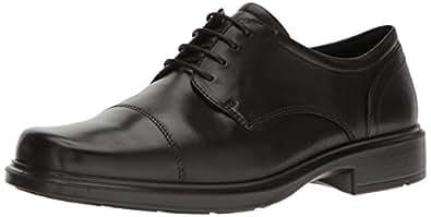 ECCO 男士 Helsinki Santiag 鞋头 黑色 39 EU (US Men's 5-5.5 M)