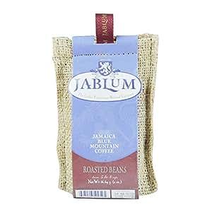 原装进口加比蓝JABLUM蓝山咖啡 纯正牙买加蓝山咖啡豆57克麻袋装默认发豆