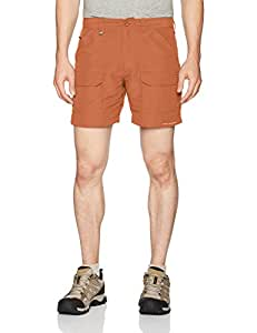 Columbia 男士 Permit II 短裤 30W x 6L 橙色 1494201