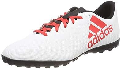 adidas 男式 X TANGO 17.4TF 足球靴 Grey (Grey/Reacor/Cblack Grey/Reacor/Cblack) 12 UK