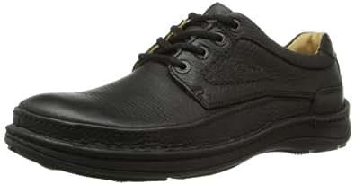 Clarks Nature Three 男士德比鞋黑色 Black (Black Leather) 8.5 UK
