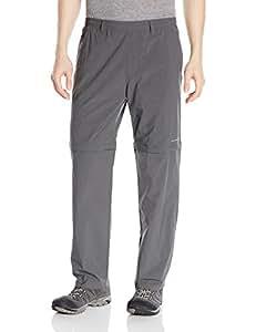 Columbia 哥伦比亚 男士 Backcast 可转换长裤 Small x Size 30 灰色 1543971-028-Small x Size 30