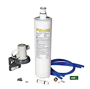 3M Filtrete Maximum 厨下式净水器,易安装,减少99%的铅含量等(3US-MAX-S01)