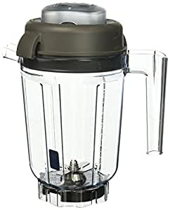 Vitamix 32-Ounce WET with Blade and Lid. BPA Free Eastman Tritan® Copolyester. New Technology (32-Ounce WET CONTAINER)