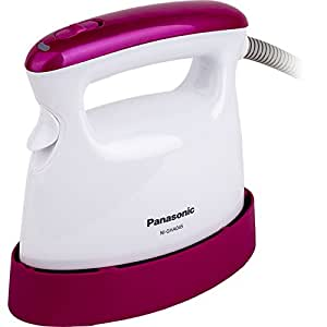 Panasonic松下挂烫机电熨斗NI-GHA045(亮粉色)手持便携式熨烫系列