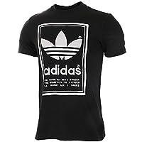 Adidas阿迪达斯三叶草男装2018夏新款运动休闲透气短袖T恤BP6154 BP6154 46/S(175/92A))