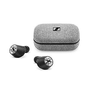 Sennheiser 森海塞尔 MOMENTUM TrueWireless 真无线 蓝牙无线降噪HiFi耳机 蓝牙5.0 黑色 内置麦克风可通话