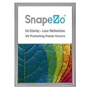 SnapeZo 海报框,3.05 厘米外形,前载快速海报更改,壁挂式,专业系列