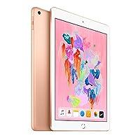 Apple iPad 9.7英寸平板电脑(32G WIFI版/A10 芯片/Retina显示屏/Touch ID技术 MRJN2CH/A) 金色