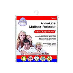 Bed Bug Blocker Twin 60/40 Cotton Rich Zip Mattress Protector