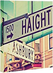 "Deny Designs Shannon Clark 艺术画布 Haight Ashbury 24"" by 30"" 14306-artca3"
