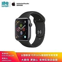 Apple Watch Series 4 MU6D2CH/A 智能手表(GPS 44毫米 深空灰色铝金属表壳 黑色运动型表带)官方授权 全新国行 顺丰发货 含税带票 可开16% 专票