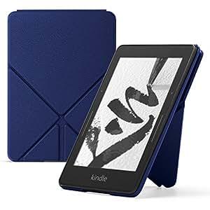 亚马逊折叠式真皮保护套 (Kindle Voyage 电子书阅读器),蓝色