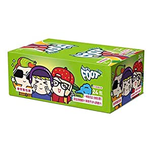 FRUIT BY THE FOOT 果汁卷卷糖休闲儿童零食糖果软糖橡皮糖 蓝莓味(凝胶糖果) 21g*24(韩国进口)