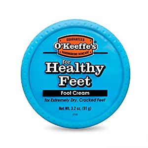 O'Keeffe's 健康脚足霜,3.2盎司(91g),罐装