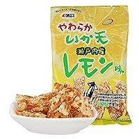(日本进口)MARUESU马鲁斯软炸鱿鱼(柠檬味)x2袋装
