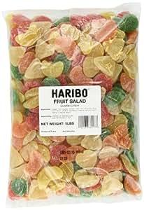 Haribo Gummi Candy, Fruit Salad, 5-Pound Bag