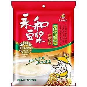 永和无添加蔗糖豆浆粉350g