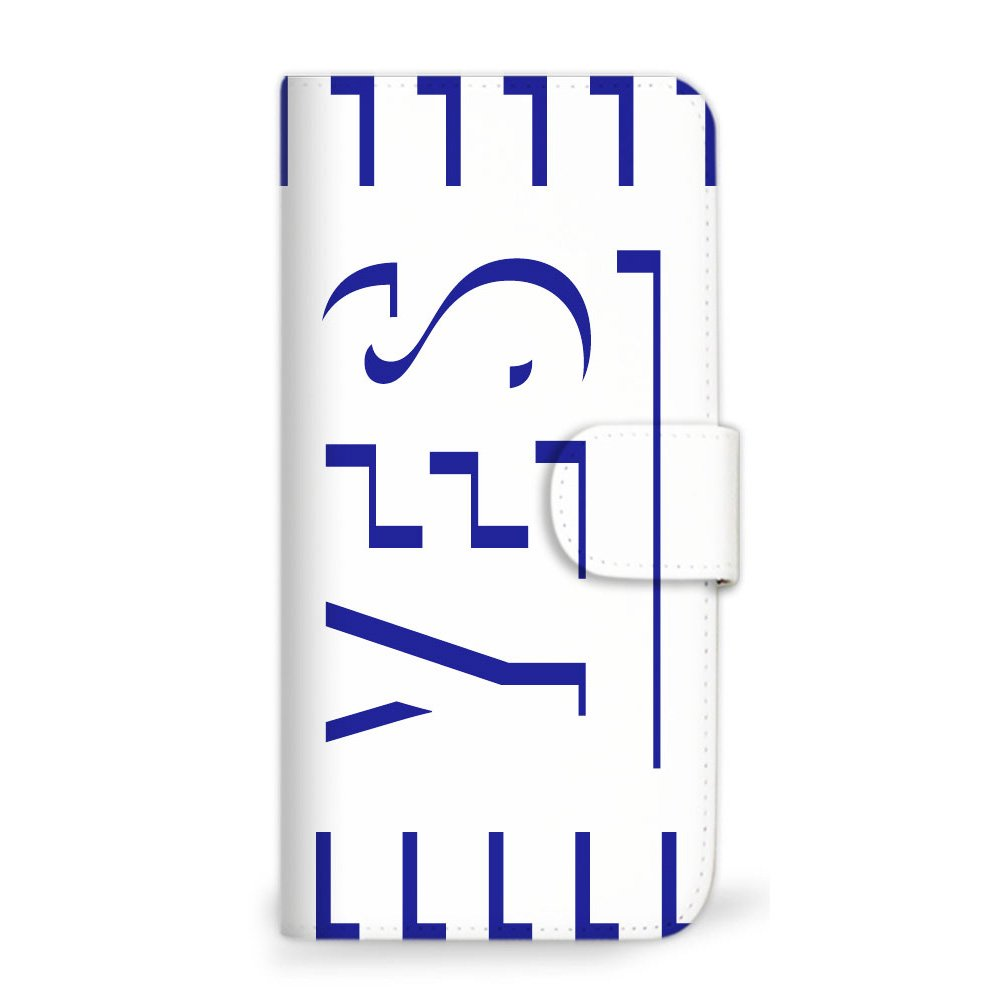 ����G����no���_mitas 智能手机保护壳翻盖型 yes no 简约 b 14_d
