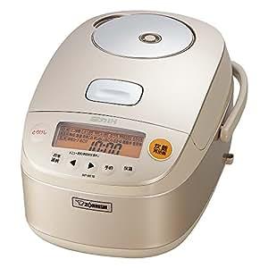象印 电饭煲 5.5合(约1L) 压力IH 香槟金 NP-BE 10-NZ 需配变压器