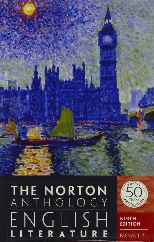 The Norton Anthology of English Literature (Ninth Edition)  (Vol. Package 2: Volumes D, E, F)