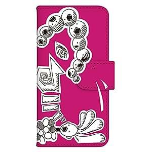 智能手机壳 手册式 对应全部机型 印刷手册 cw-141top 套 手册 动画 UV印刷 壳WN-PR200953-MX Huawei LUMIERE 503HW 图案 A