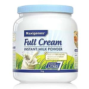 Maxigenes 美可卓 高钙全脂奶粉 1kg(澳大利亚进口) (跨境自营,包邮包税)