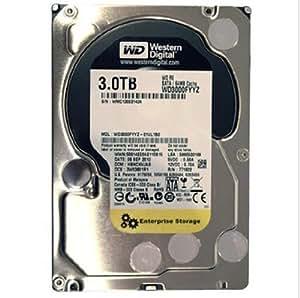 WD 西部数据 RE (SATA) 3.5 英寸 3TB 7200转 64 MB SATA 6Gb/s 台式机硬盘 WD3000FYYZ